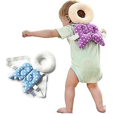 YLMTOP Toddler Headrest Pillow Baby Head Protection Cushion Blue YBB003-Blue