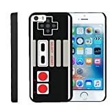 MINITURTLE Case Compatible w/Apple iPhone SE Case, iPhone 5/5s Case][Snap Shell] Hard Plastic Slim Fitted Snap on case w/ Unique Designs Game Controller For Sale