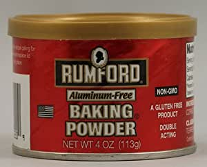 Rumford Baking Powder -- 4 oz - 2 pc