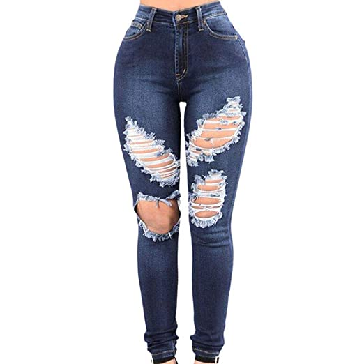 47eac7ca39 Kehen Ripped Holes Jeans