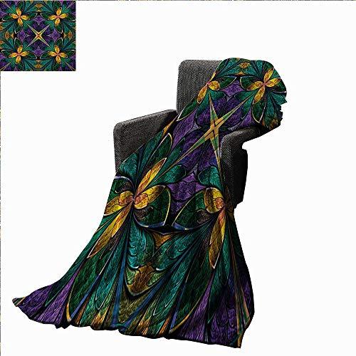 Fractal Custom Design Cozy Flannel Blanket Antique for sale  Delivered anywhere in Canada