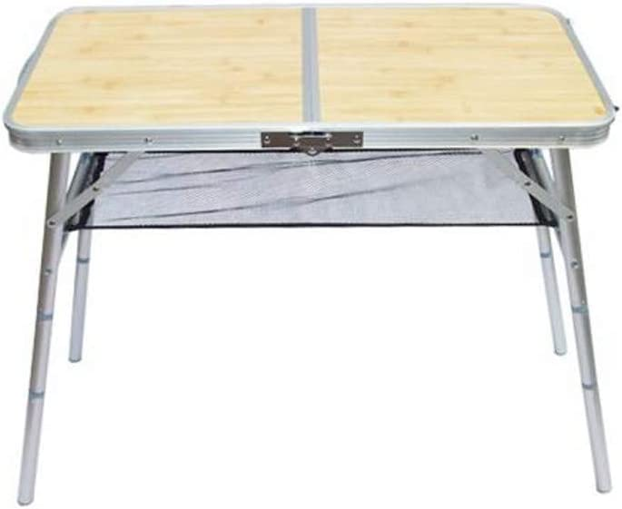 Gmgod Aluminum Table,Aluminum Outdoor Folding Table Portable Camping Table Outdoor Party Table