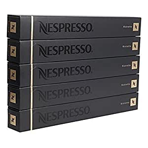 Nespresso OriginalLine, Ristretto - NOT IgbKvu compatible with Vertuoline, 50 Count (Pack of 2)
