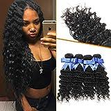Lovenea TM 7A Deep Curly Wave Malaysian Virgin Human Hair 4 Bundles offers