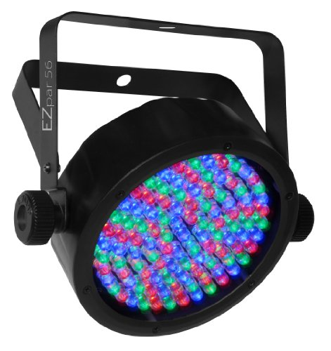 CHAUVET DJ EZpar 56 Battery-Operated RGB LED Wash Light w/Automated & Sound Active Programs and Infared Remote Control by CHAUVET DJ
