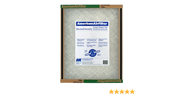 2 Standard Sizes AAF 198-863-052 StrataDensity Double Sided Skin Fiberglass Panel Filters 23 7//16 x 23 7//16 x 1 3//4 Pack of 12