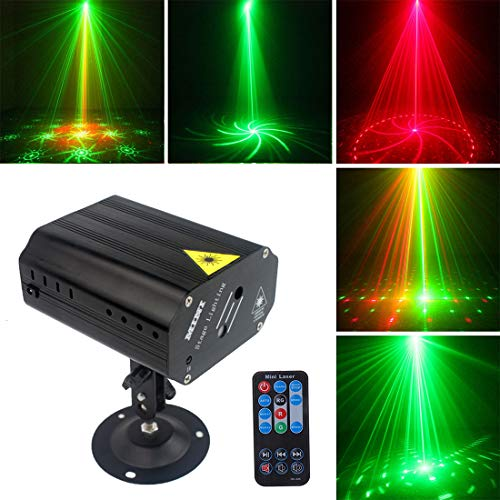 Party Lights DJ Lights Disco Stage lights Sbolight Led Projector Strobe lights dj equipment for Stage Lighting with Remote Control for Dancing Christmas Gift Thanksgiving KTV Bar Birthday Outdoor