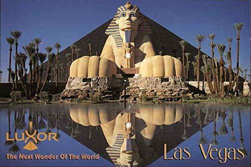 Luxor Hotel Las Vegas, Nevada Original Vintage Postcard (Vegas Hotel Luxor Las)