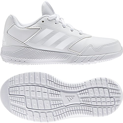 Adidas altarun CF K–Chaussures de deportepara enfants, Blanc–(Ftwbla/bleu/grimed), -30