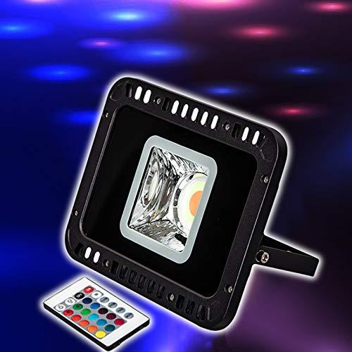 LE FOCO LED RGB DE 30W,COLORES Y MODOS, FOCO PROYECTOR ...