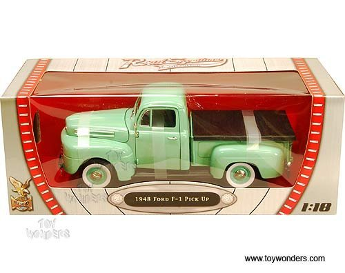 92218gn Yatming - Ford F-1 Pick up (1948, 1:18, Green) 92218 Diecast Car Model Auto Vehicle Die Cast Metal Iron Toy Transport
