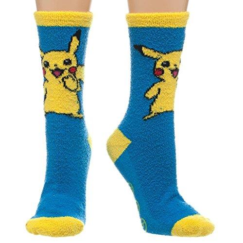 Pokemon-Pikachu-Fuzzy-adulto-Zapatillas