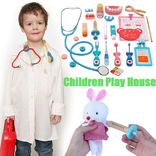 Wooden Children's Medical Equipment Play House Simulation Doctor Toy Sets - Injection Games - Rolesplay Girl Nurse Doctor Stethoscope for Kids of 7-14 Years from Gorgebuy
