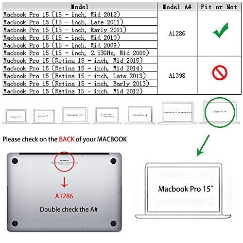 Buy macbook pro 15 case full rubber