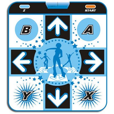 Nintendo Gamecube GC Deluxe Twister Dance Pad [1'' Soft Foam] -
