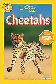 Book's Cover of Cheetahs (National Geographic Readers: Level 2) (Inglés) Encuadernación de biblioteca – Ilustrado, 1 julio 2011