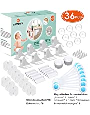 Kindersicherheitsset Kindersicherung Steckdose Schrank Schubladen Eckenschutz