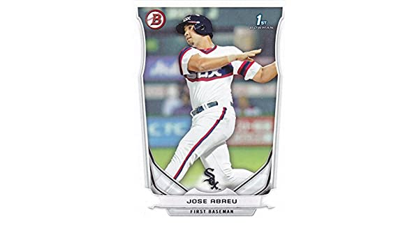 2014 Bowman Jose Abreu Rookie Card White Sox At Amazons