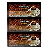 3 Boxes of Gano Café Classic Instant Premium Black Coffee Enhriced with Ganoderma lucidum extract (Free Shipping and Zrii Rise Coffee (5 Sachets Gifts)