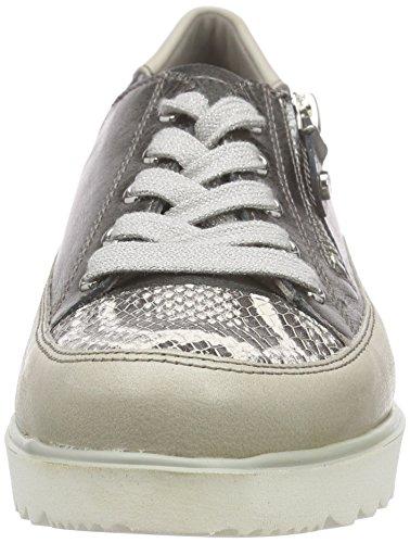 Lino Derby Mujer Cordones Zapatos Ara Gun 06 Malm de Beige Street W61UnZq