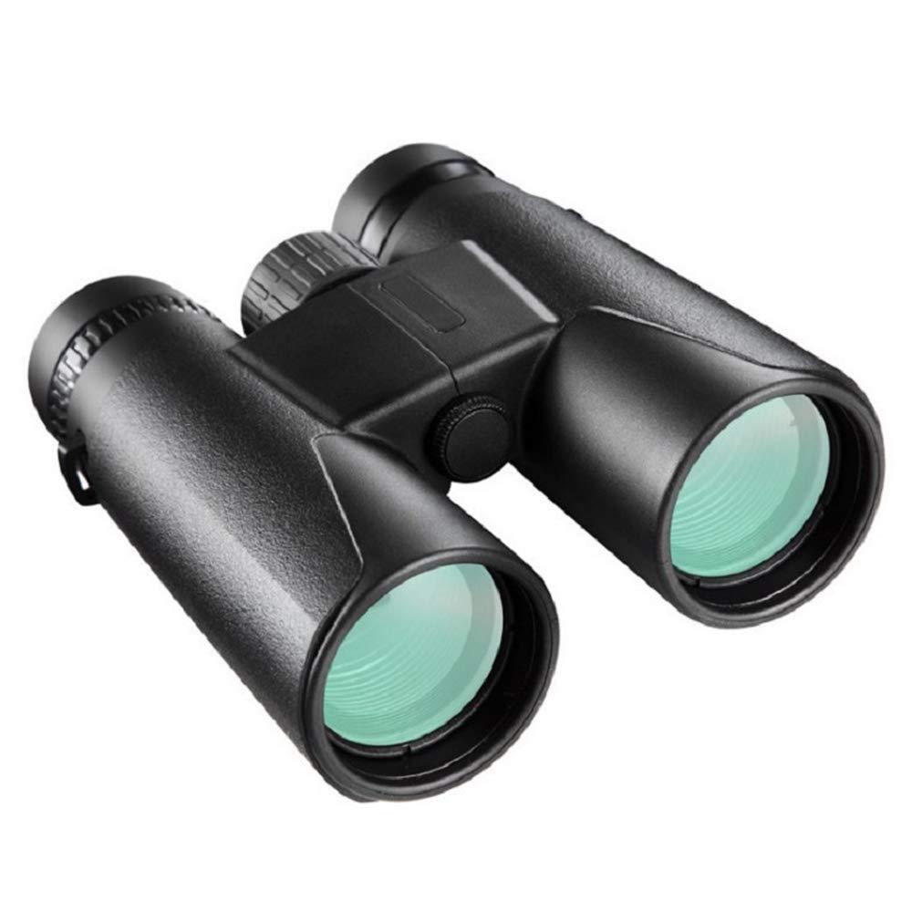 10x42 Binoculares a prueba de golpes 10x42 Binoculares para adultos /óptica real de alta resoluci/ón incluye un clip universal para usar f/ácilmente con su tel/éfono 10x con prisma BAK4