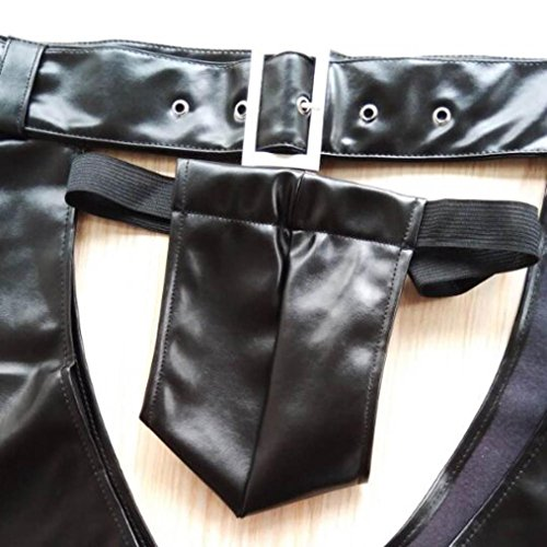 di Fami seducente aperte da aperte Donna Nero della del tuta degli Mutande Lingerie uomini della cavallo vEawA7qq