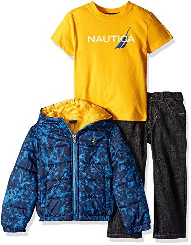 Nautica Three Outerwear Puffer Jacket