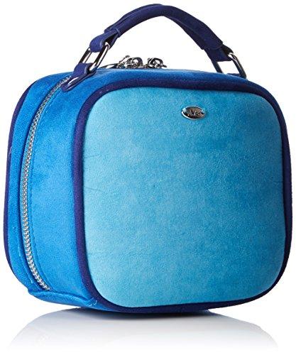 Menbur Blu azul Donna Borsa Blau Brancere rqwrBP