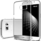 Galaxy S6 Edge Case, OBLIQ [NaKED SHIELD][Satin Silver] Thin Slim Fit Armor Scratch Resist Metallic Finish Hard Protection Hybrid High Quality Clear Case (for Samsung Galaxy S6 Edge)