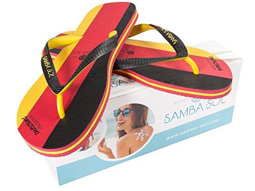 Infradito Collezione Flag Di Samba Sol Mens - Alla Moda E Confortevole. Sandali Alla Moda E Classici Per Uomo. Germania