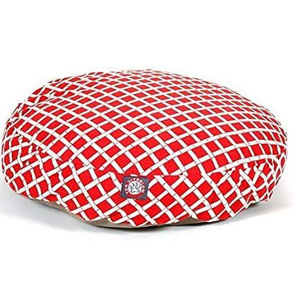 Amazon.com: Hebel Bamboo Round Pet Bed | Model SF - 624 ...