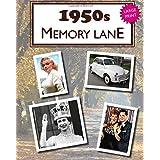 1950s Memory Lane: Large print book for dementia patients