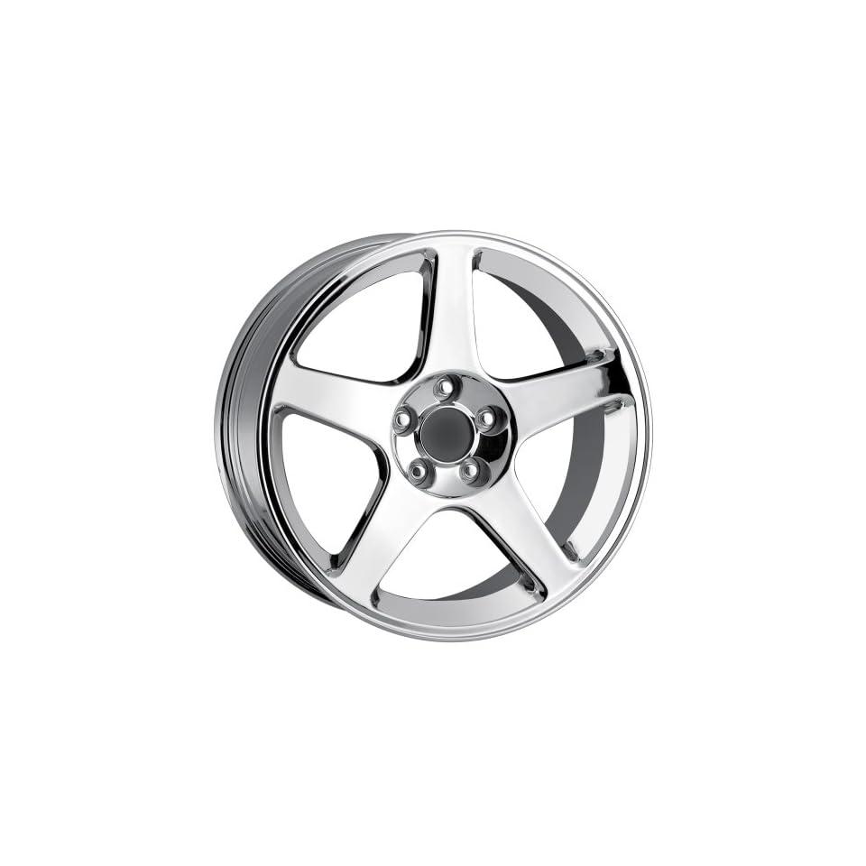 18x10.5 Detroit Style 815 (Chrome) Wheels/Rims 5x114.3 (815 8165C)