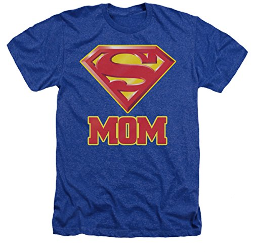 Superman Super Mom Adult T-shirt