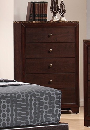 Coaster Home Furnishings Conner 5-Drawer Chest Cappuccino