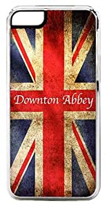 CellPowerCasesTM Downton Abbey Great Britain Flag ChromaLuxe Clear Case for iPhone 5c (5c V2 Clear Case)
