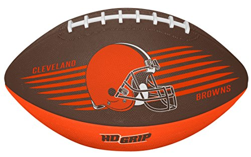 Rawlings NFL Cleveland Browns 07731064111NFL Downfield Football (All Team Options), Orange, Youth