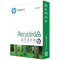 HP Printer Paper 8.5x11 Recycled30 20 lb 30% postconsumer recycled 1 Ream 500 Sheets 92 Bright Made in USA FSC Certified…