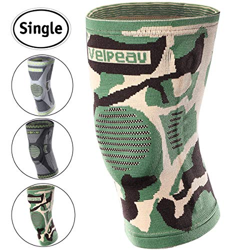9b1ff9dcc4 Velpeau Knee Brace - Best Knee Support with Patella Gel Pads & Side  Stabilizers - Compressive Stabilized Sleeve of The Knee, Provides Relief of  Pain, Weak, ...