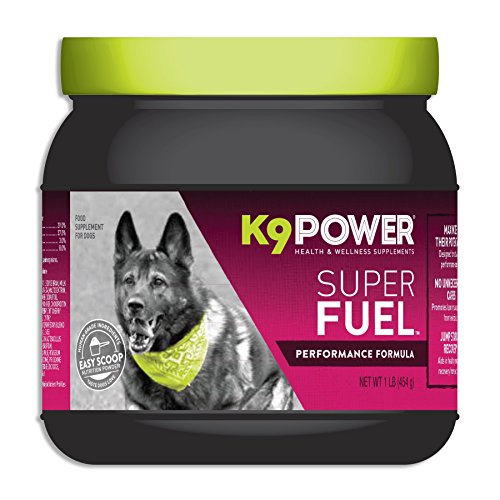 K9-Power Super Fuel - Energy and Muscle Nutritional Supplement for Active Dogs by K9-Power