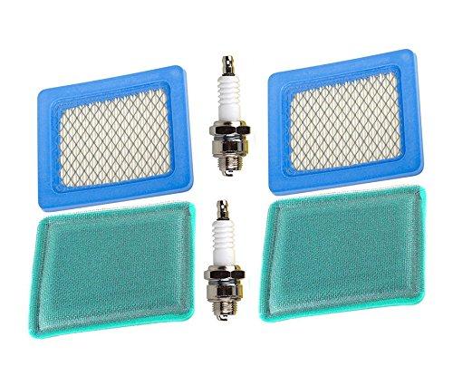 HIFROM Pack de 2 unidades 491588 399959 Filtro de aire ...