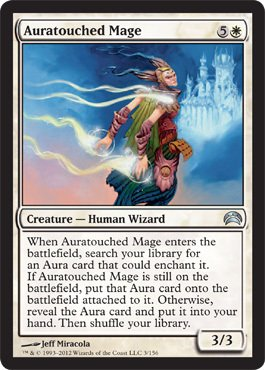 Magic: the Gathering - Auratouched Mage (3) - Planechase 2012