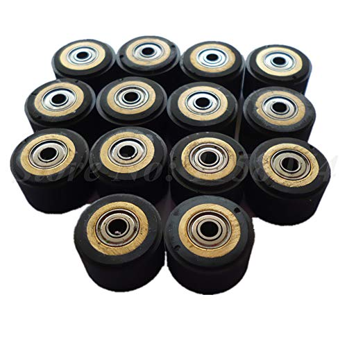 ILLIO Pack Of 10 Pinch Roller For Roland Vinyl Plotter Cutter 31116mm Electronic Cutting Machines Cutting Plotter Wheel Bearing New NEW by ILLIO (Image #1)
