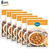 Basu's HomeStyle Chicken Tikka Masala fully prepared entrée pouch (7oz x 6 pack) - Indian curry flavors from home