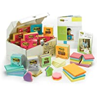 Post-it Treasure Chest (Assorted Sizes, Assorted Colors)