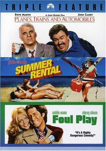Planes, Trains and Automobiles / Summer Rental / Foul Play (Triple Feature) by Paramount Home Video