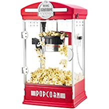 Great Northern Popcorn Company 6076 Big Bambino Red Great Northern Popcorn - The Big Bambino 4 Ounce Retro Style Popcorn Popper Machine