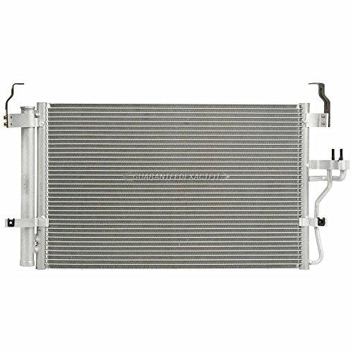 Hyundai Elantra A/c Condenser - A/C AC Condenser With Drier For Hyundai Elantra & Tiburon - BuyAutoParts 60-60350ND New