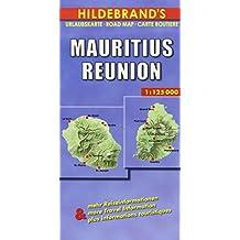 Hildebrand's Travel Map: Mauritius/Reunion