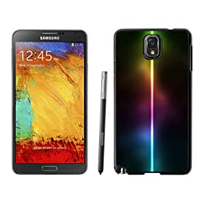 Beautiful Custom Designed Cover Case For Samsung Galaxy Note 3 N900A N900V N900P N900T With Neon Light Line Phone Case